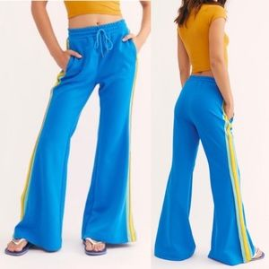 Free People She's A Rainbow Flare Track Pants
